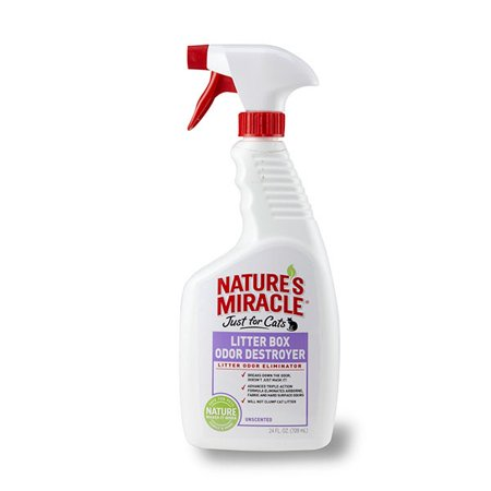 Nature's Miracle Just for Cats Litter Box Odor Destroyer Now $1.81 (Was $12.28)