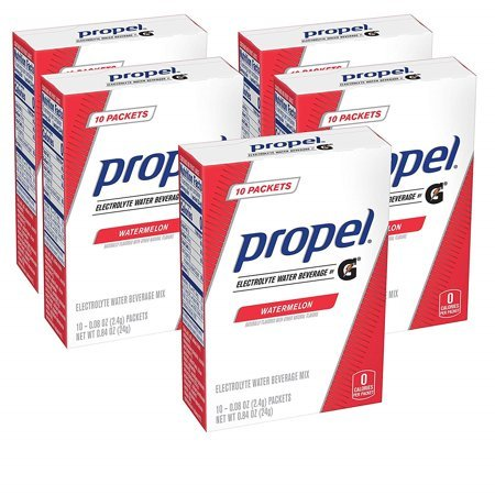 Propel Powder Packets Four-Flavor Variety Pack 50-Count Now $9.07 (Was $13.99)