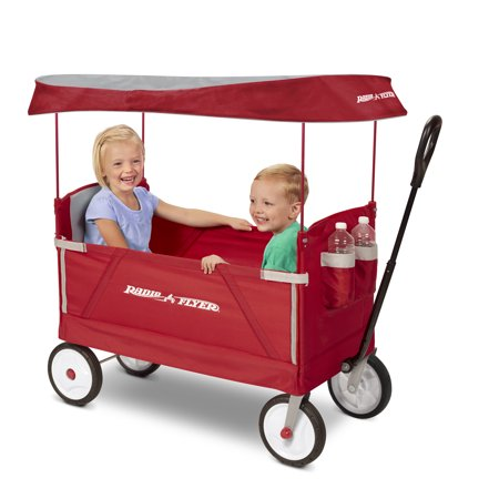 Radio Flyer 3-In-1 EZ Folding Wagon with Canopy Only $79