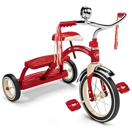 Radio Flyer Classic Red Dual Deck Tricycle Now $44 (Was $69.99)