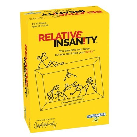 Relative Insanity Party Game About Crazy Relatives Now $7.49 (Was $20.99)
