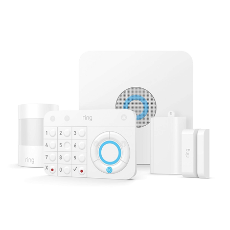 Ring Alarm Home Security System - 5 Piece Kit - Works with Alexa