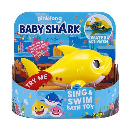 Baby Shark Sing and Swim Bath Toy Daddy Shark Now $8.89 (Was $14.99)