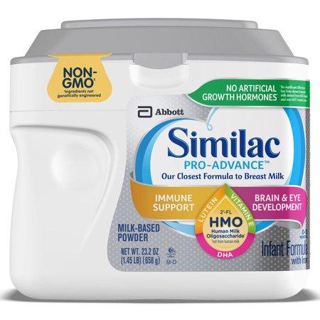 Similac Pro-Advance Non-GMO Infant Formula, 3 Count Now $71 (Was $129.60)