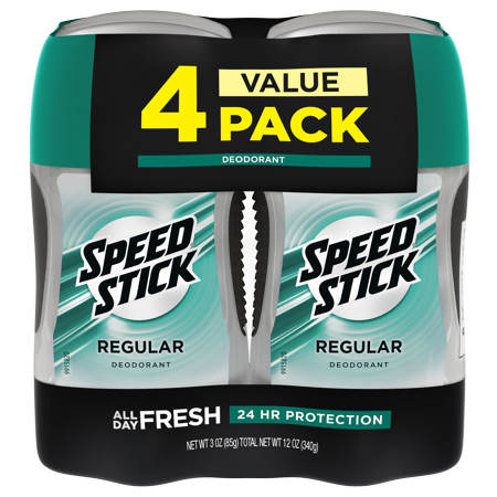 Speed Stick Deodorant for Men 4-Pack Now $5.47 (Was $11.90)
