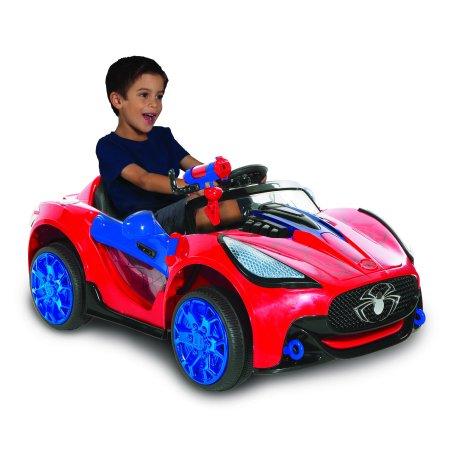 Marvel 6 Volt Spider-man Super Car for Kids Now $69 (Was $149)