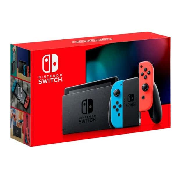 Nintendo - Switch 32GB Console w/ 2 Games only 9