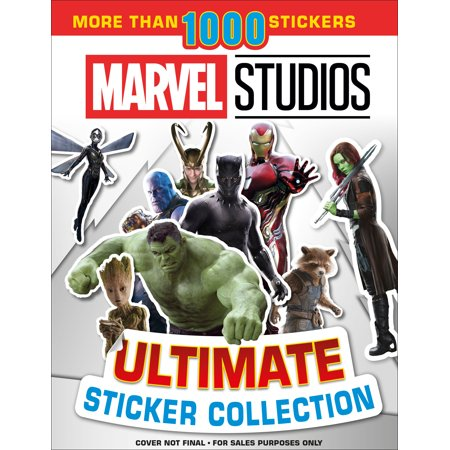 Ultimate Sticker Collection: Marvel Studios : With more than 1000 stickers