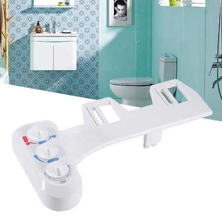 Dalmo Non-Electric Bidet Toilet Attachment with Self-Cleaning Dual Nozzle Now $19.71 (Was $79.99)