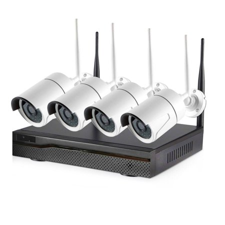 Wireless Outdoor Security Camera System w/ Recorder Now $159.99 (Was $319.99 )