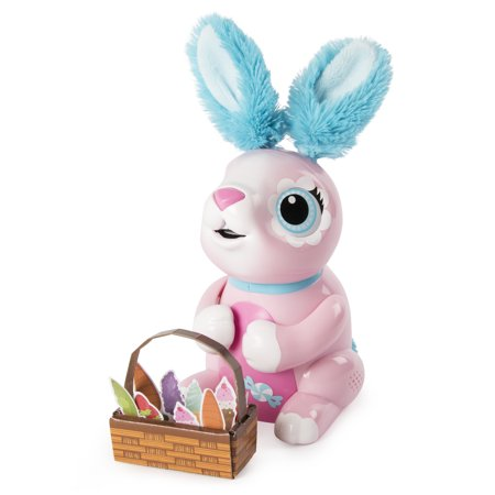Zoomer Hungry Bunnies Shreddy, Interactive Robotic Rabbit That Eats Now $9.94 (Was $29.99)