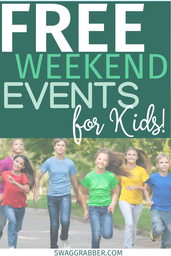 Free Kids Events for this Weekend