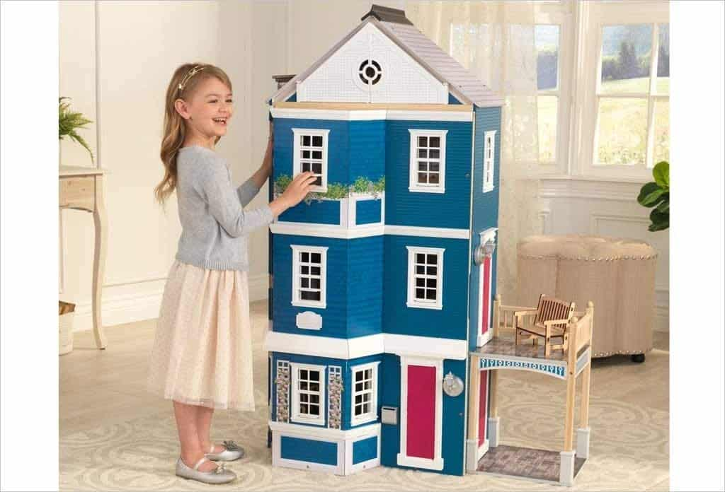 KidKraft Grand Anniversary Wooden Dollhouse with Furniture Now 7.97 (Was 9)