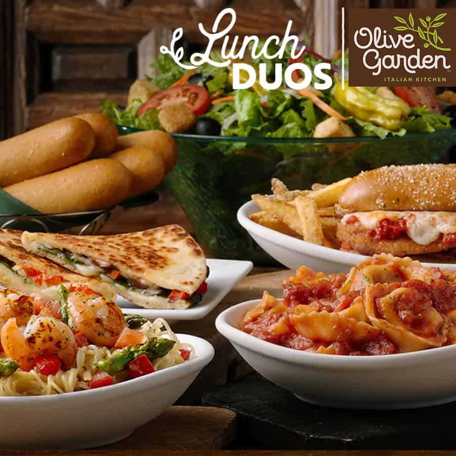 Olive Garden Coupon | Buy One Get One 50% off Lunch Entrees