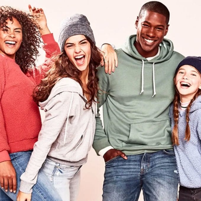 Extra 20% Off Already Marked Down 75% Off Clearance at Old Navy
