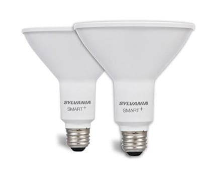 SYLVANIA SMART+ ZigBee Soft White PAR38 LED Bulb, 2 Pack Now .00 (Was .98)