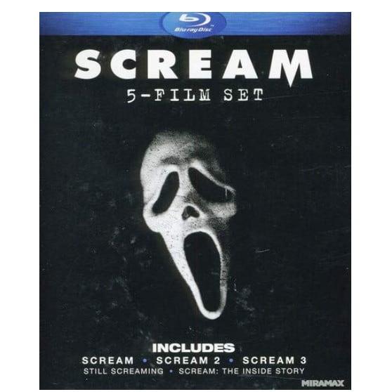 Scream: Five-Film Set on Blu-ray Now .87 (Was .99)