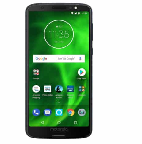 Moto G6 with Alexa Hands-Free - 64 GB - Unlocked (AT&T/Sprint/T-Mobile/Verizon) Now 9.99