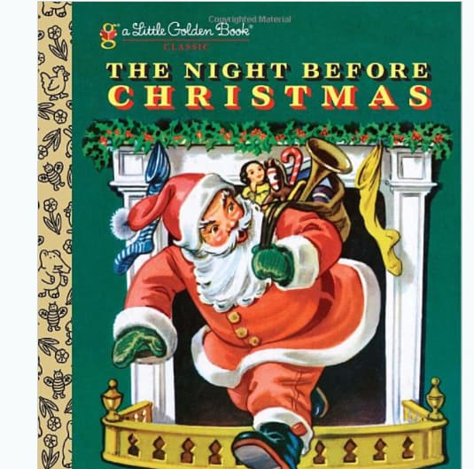 The Night Before Christmas Little Golden Book Now .49 (Was .99)