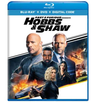 Fast & Furious Presents: Hobbs & Shaw Blu-ray Now .99 (Was .98)