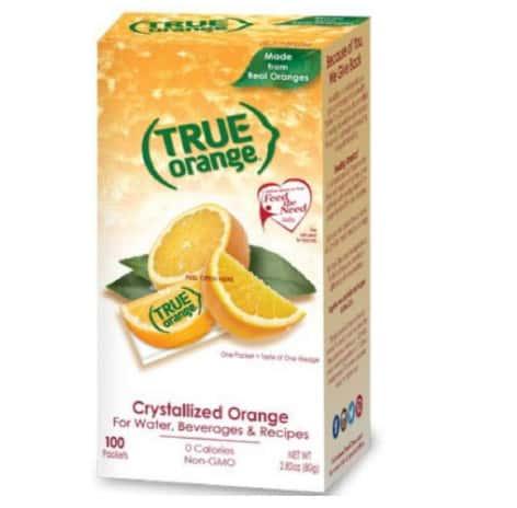 True Orange 100 Count Now .00