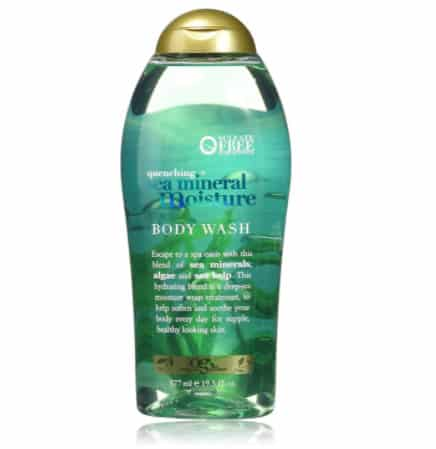 OGX Quenching + Sea Mineral Moisture Body Wash, 19.5 Ounce Now .80 (Was .30)