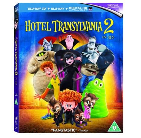 Hotel Transylvania 2 Blu-ray 3D Now .99