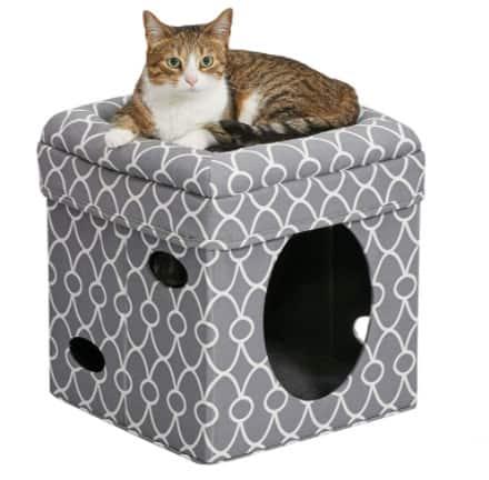 Cat Cube Cozy Cat House / Cat Condo Now .99 (Was .98)