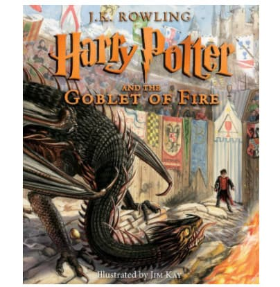 Harry Potter and the Goblet of Fire: The Illustrated Edition Book Now