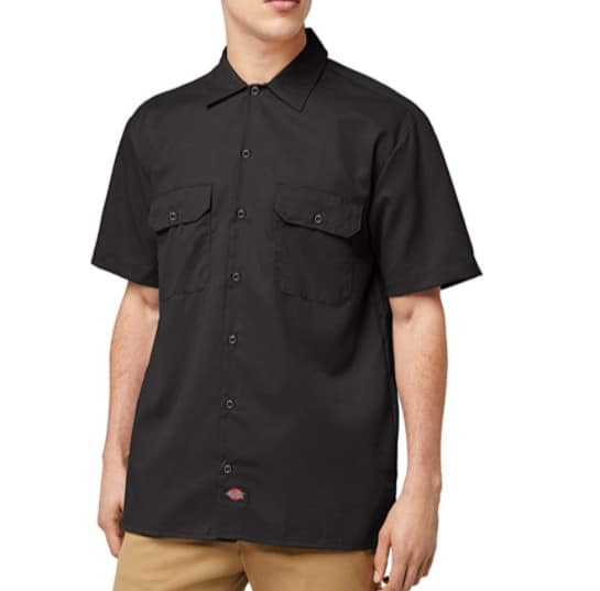 Dickies Men's Big and Tall Short Sleeve Work Shirt Now .99 (Was .00)