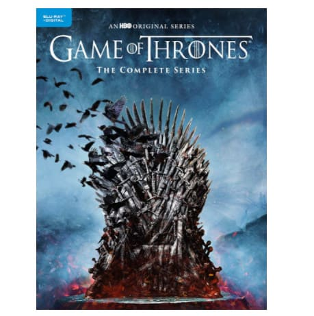 Game of Thrones: Complete Series Digital Copy + Blu-ray Now .99 (Was 2)