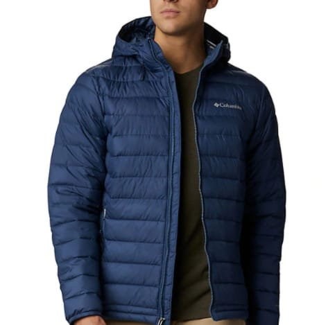 Columbia Mens Powder Lite Hybrid Insulated Jacket Now  (Was 0)