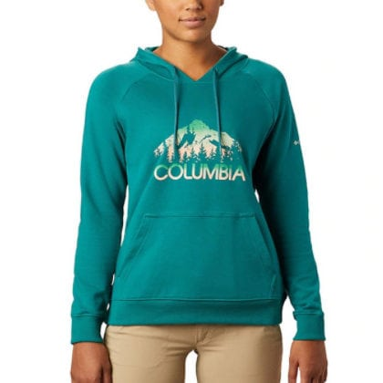 Women's Columbia Logo French Terry Hoodie Now .98 (Was )