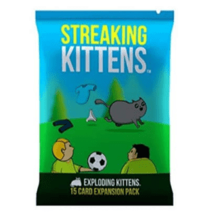 Streaking Kittens: Second Expansion of Exploding Kittens Now .99 (Was .99)