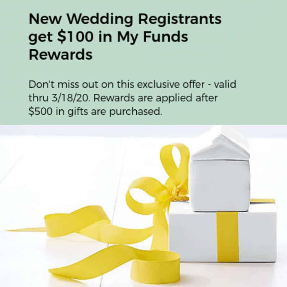 Get 0 Bonus for Bed, Bath & Beyond Wedding Registry!