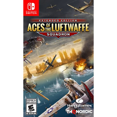 Aces of The Luftwaffe - Squadron Edition - Nintendo Switch Now $19.99 (Was $29.99)
