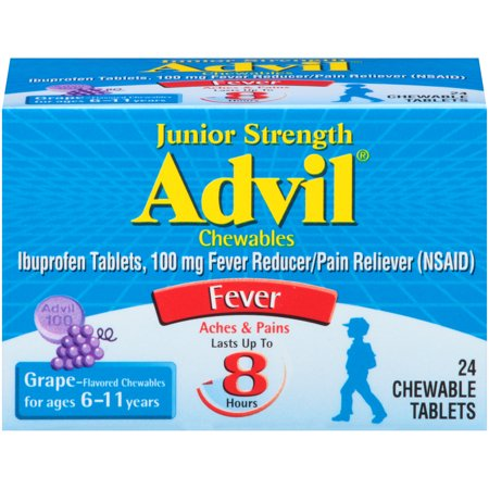 Advil Junior Strength Chewables 2-Pack Now $5.98 (Was $10.28)