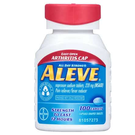 Walgreen's: Aleve Pain Reliever Fever Reducer 100 Count Only .99