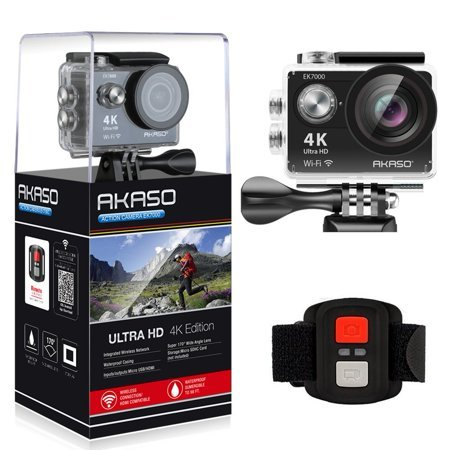 DBPOWER D5 Native 4K EIS Action Camera Now $25.99 (Was $69.99)