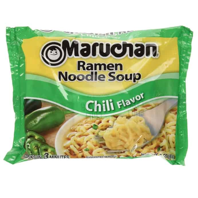 Maruchan Ramen Chili 24 Count Now .88