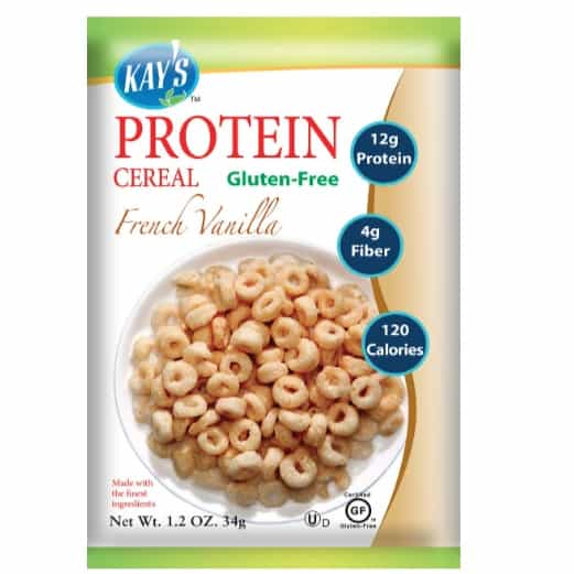 Kay's Naturals Protein Breakfast Cereal, French Vanilla, Gluten-Free, 6-Pack Now .45
