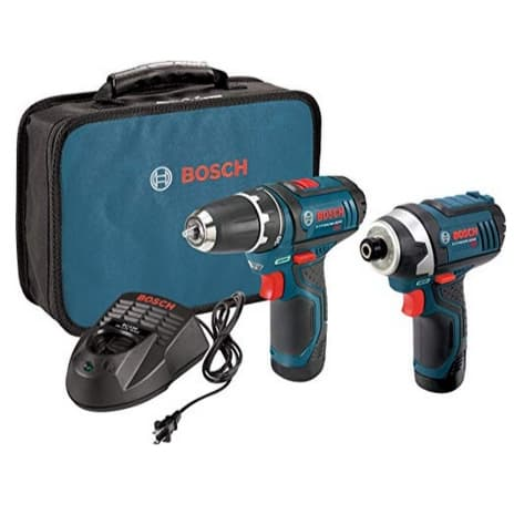 Bosch Power Tools Combo Kit with 12-Volt Cordless Drill/Driver and Impact Driver Now  (Was 1)