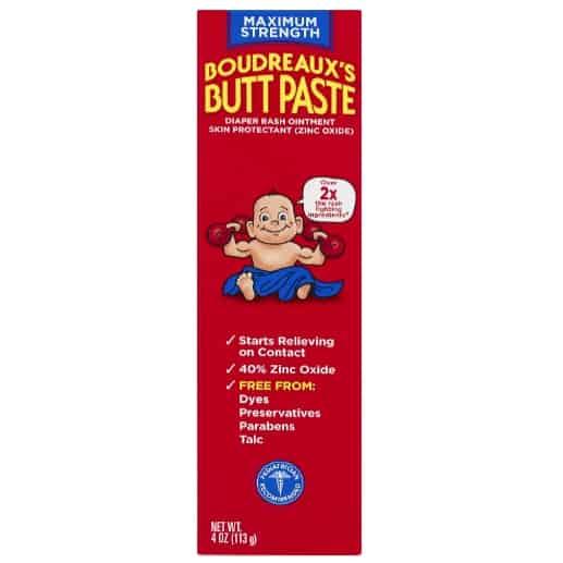 Boudreaux's Butt Paste Diaper Rash Ointment Now .91 (Was .49)