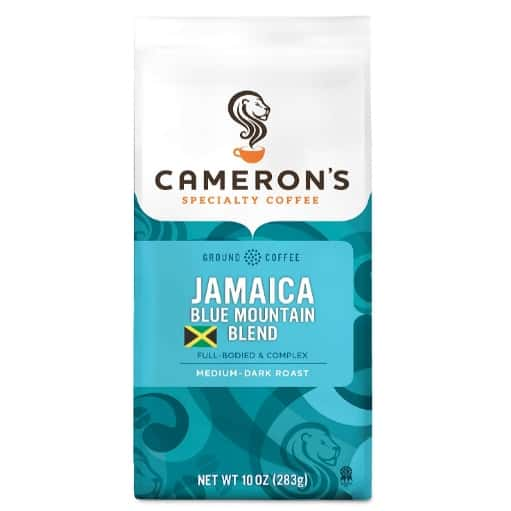 Cameron's Coffee Roasted Ground Coffee Bag Jamaican Blue Mountain Blend Now .05