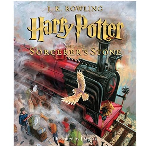 Harry Potter Books: The Illustrated Edition: Books 1-3 Now .28