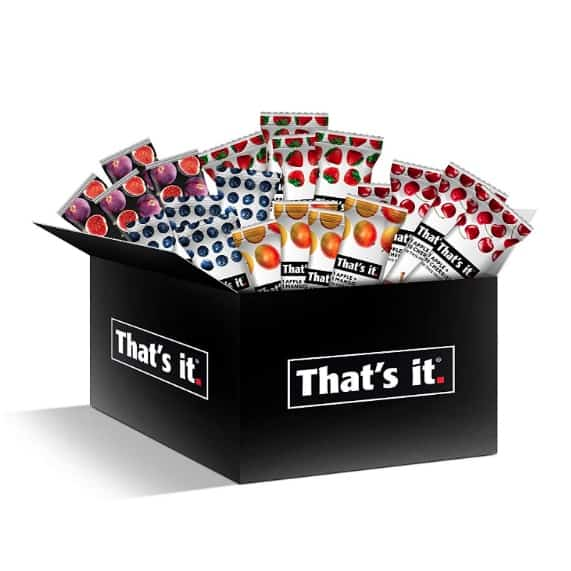 That's it Fruit Bars Snack Gift Box 20-Pack Now .49 + MORE