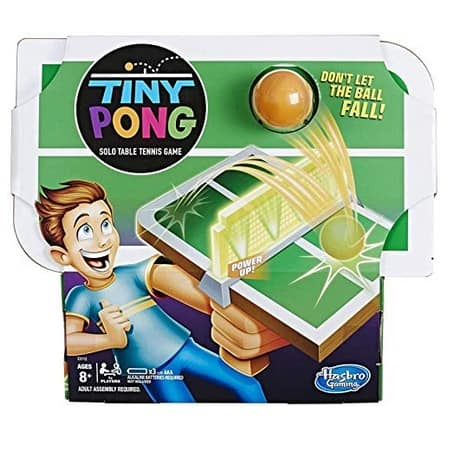 Tiny Pong Solo Table Tennis Kids Electronic Handheld Game Now .99 (Was .99)