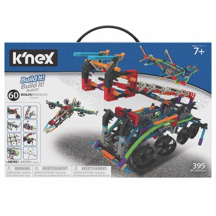 K'nex Intermediate 60 Model Building Set 398 Piece Now .20 (Was .99)
