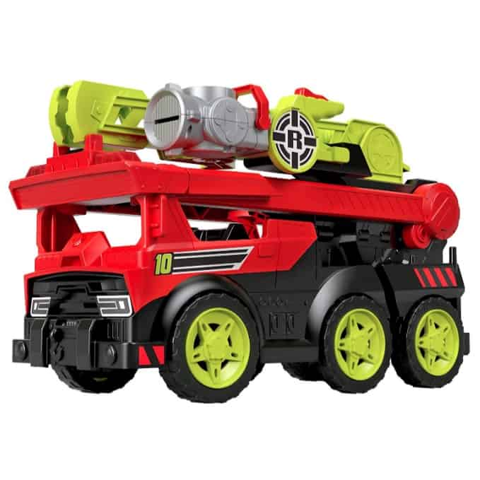 Fisher-Price Rescue Heroes Transforming Fire Truck with Lights & Sounds Now .99 (Was .99)