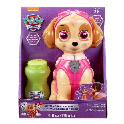 Little Kids Paw Patrol Skye Action Bubble Blower Now .86